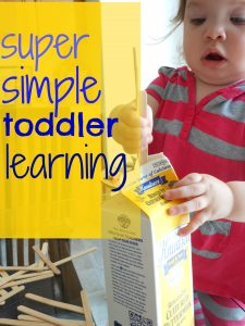 simple learning for TODDLER TUESDAY