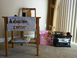 Adoption center for dogs