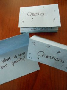Letter of the Week ~ Letter Q ~ Questions