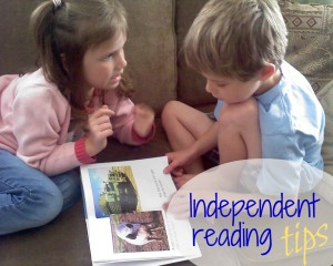 first steps into independent reading