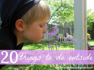 20 Things to do in Spring with Kids