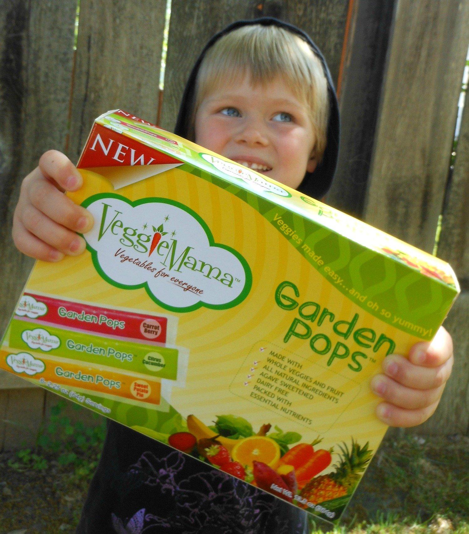 Veggie Mama Garden Pops Giveaway