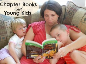 why should you read chapter books with young kids?