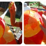 Letter of the Week – Letter S – Paper Mache Sun