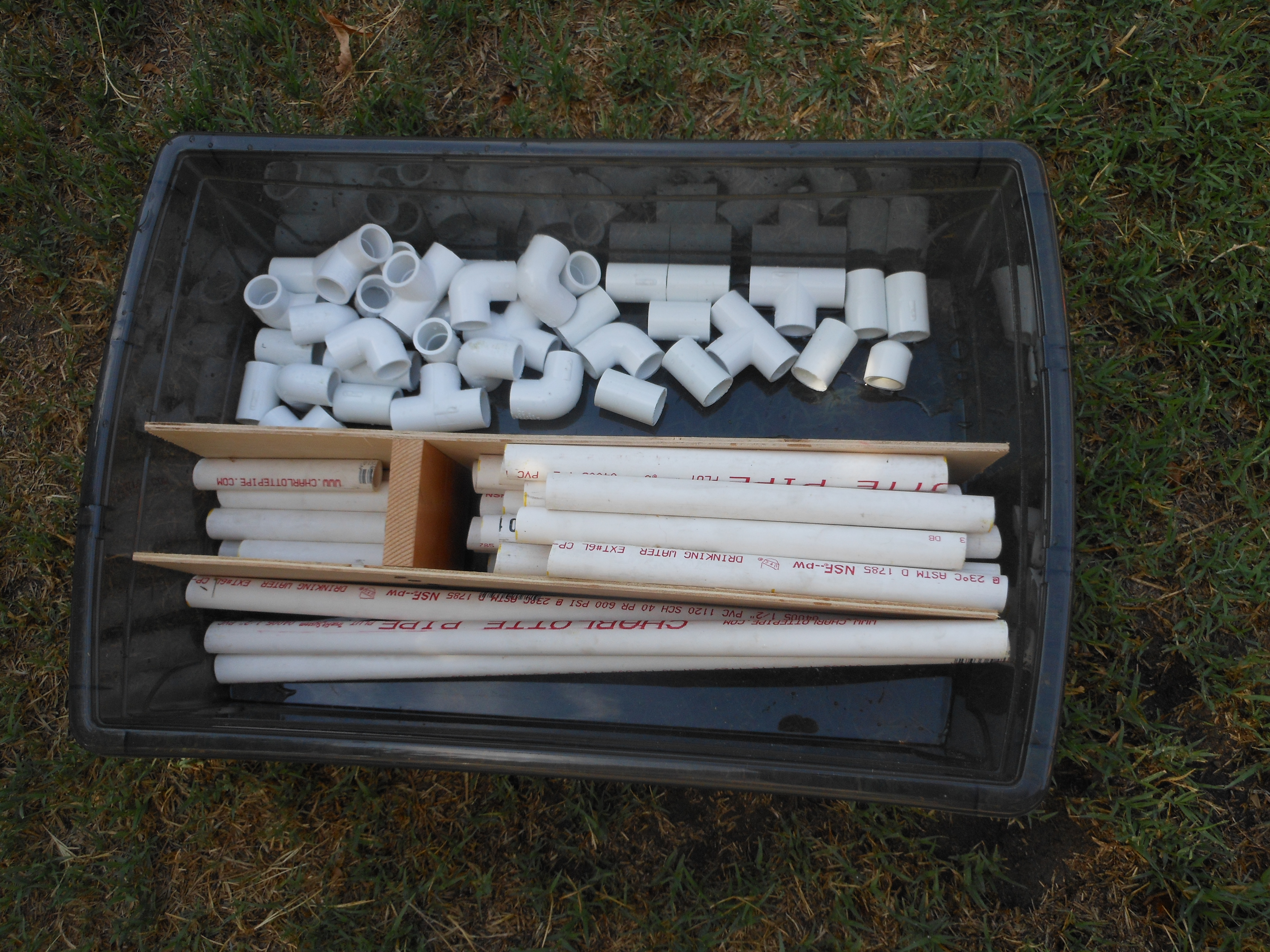 Big and Little... Construction Site | Confidence Meets Parenting Build Golf Cart Out Of Pvc Pipe on