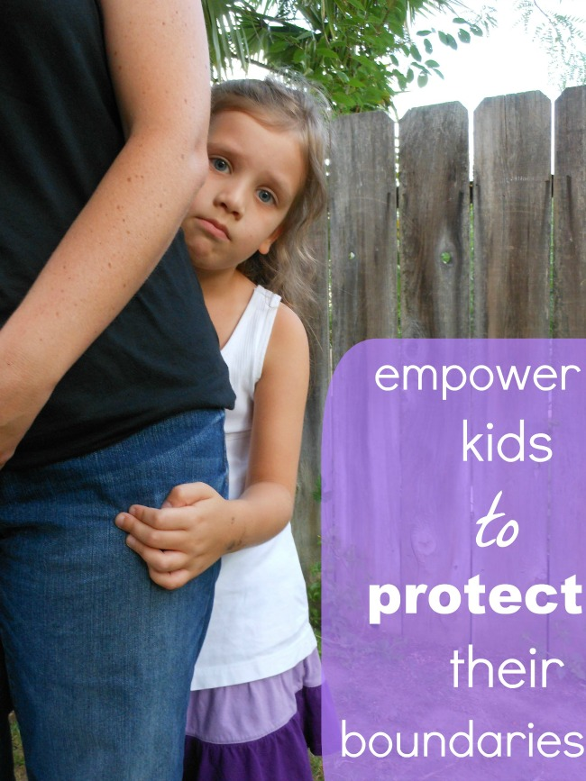 personal space for kids - great ideas for helping kids stand up for their own comfort level.