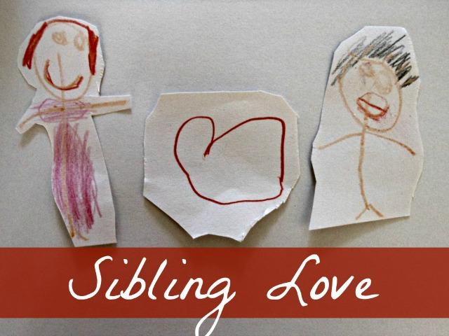 encourage sibling love - 4 tips for helping siblings get along