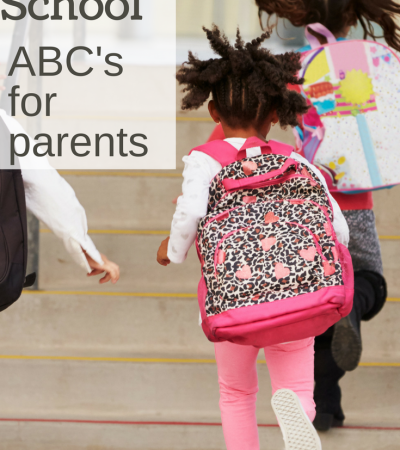 ABCs of Back to School: Back to School Tips for Parents