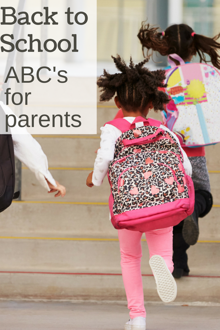 """back to school tips for parents -- """"X"""" is a great idea!"""