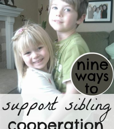 How to get Siblings to Get Along – 9 Simple Tips