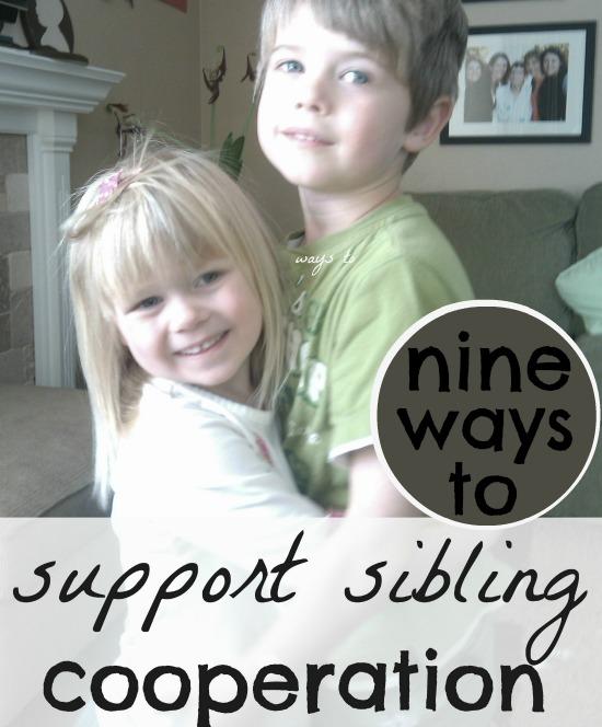 help siblings get along. great list! I love #3.