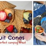 Fruit Cones: Healthy Camping Snack for Kids and Adults