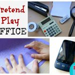 Big and Little… Pretend Play Office