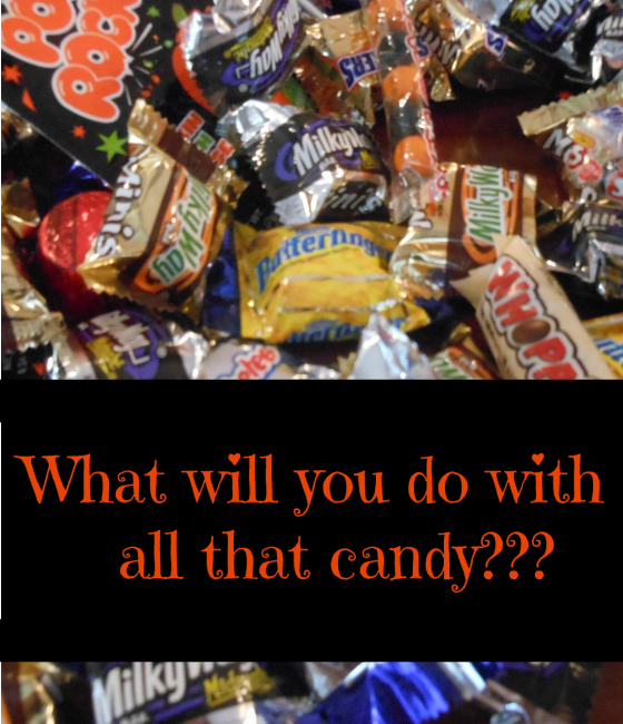 Great tip for how to limit candy and give the kids some power!