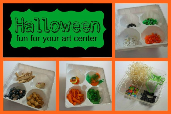 Halloween add on ideas for creative art