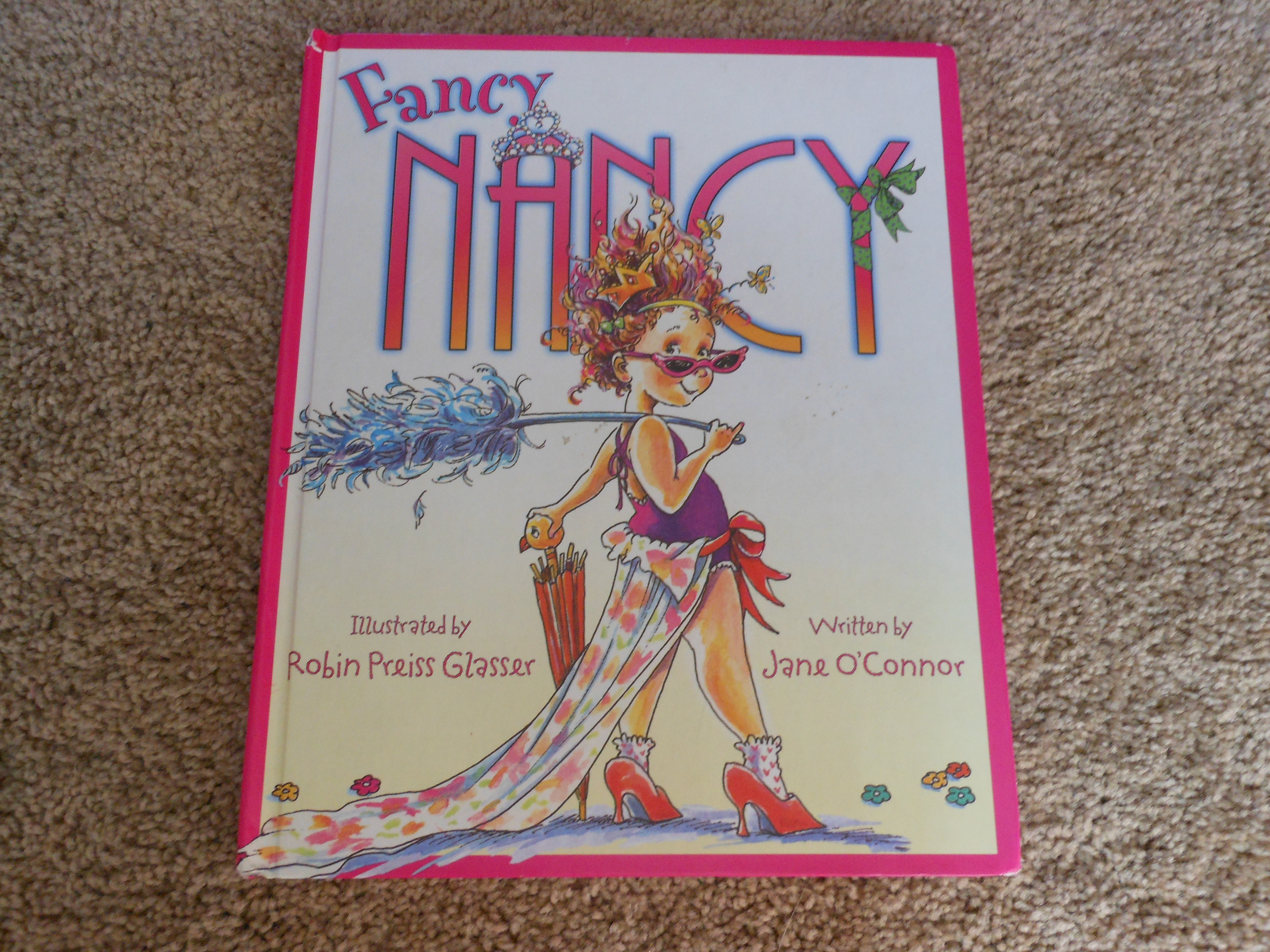 why i love fancy nancy a book review fancy