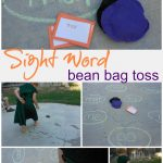 SIGHT WORD bean bag toss