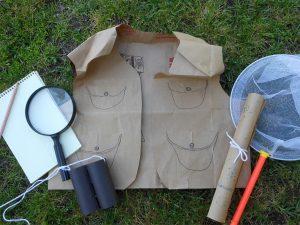 DIY Backyard Explorer Kit- Outdoor Pretend Play Idea