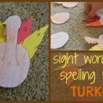 Turkey Spelling Activity for Kids