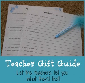 Room Mom: Teacher Gift Guide