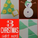 3 Christmas Sight Words Games