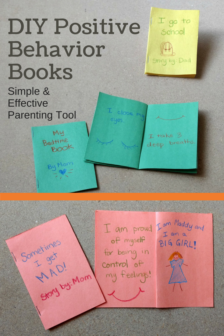simple parenting tool - positive behavior books