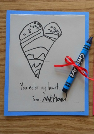 diy valentine cards for kids - get kids creating together