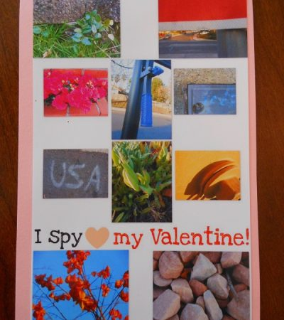 Homemade Valentine Cards for Kids – I spy Valentine Cards