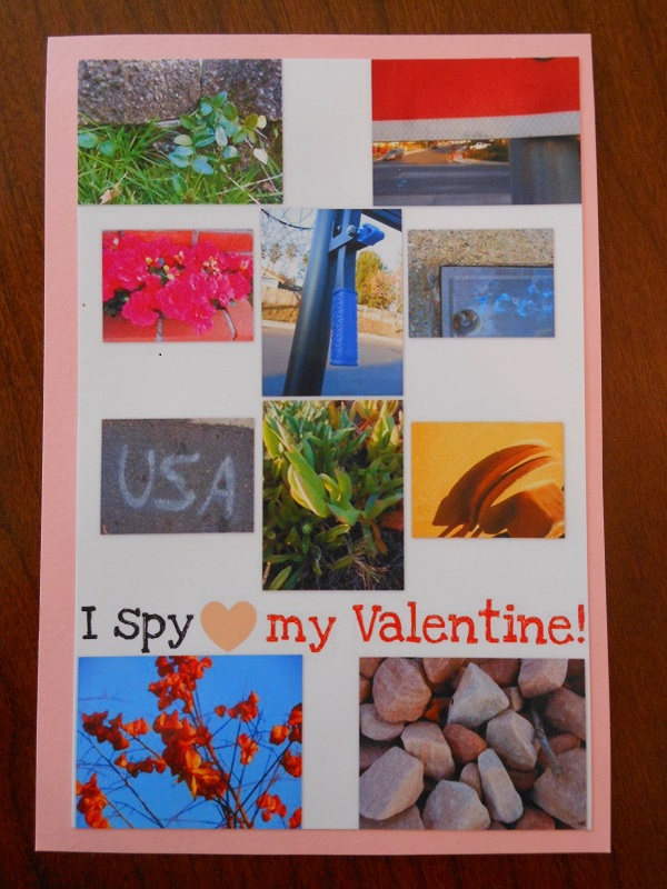 homemade Valentine card for kids - awesome idea for the neighborhood kids
