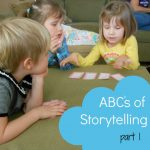 ABC's of Storytelling… A – E
