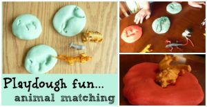 beat RAINY DAY blues with homemade playdough