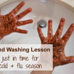 Hand washing FUN (and learning)