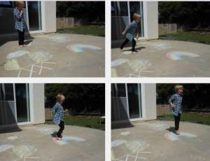 Math Activities… Spring Pattern Memory