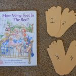 """""""How Many Feet in the Bed?"""" Counting Book Activity"""
