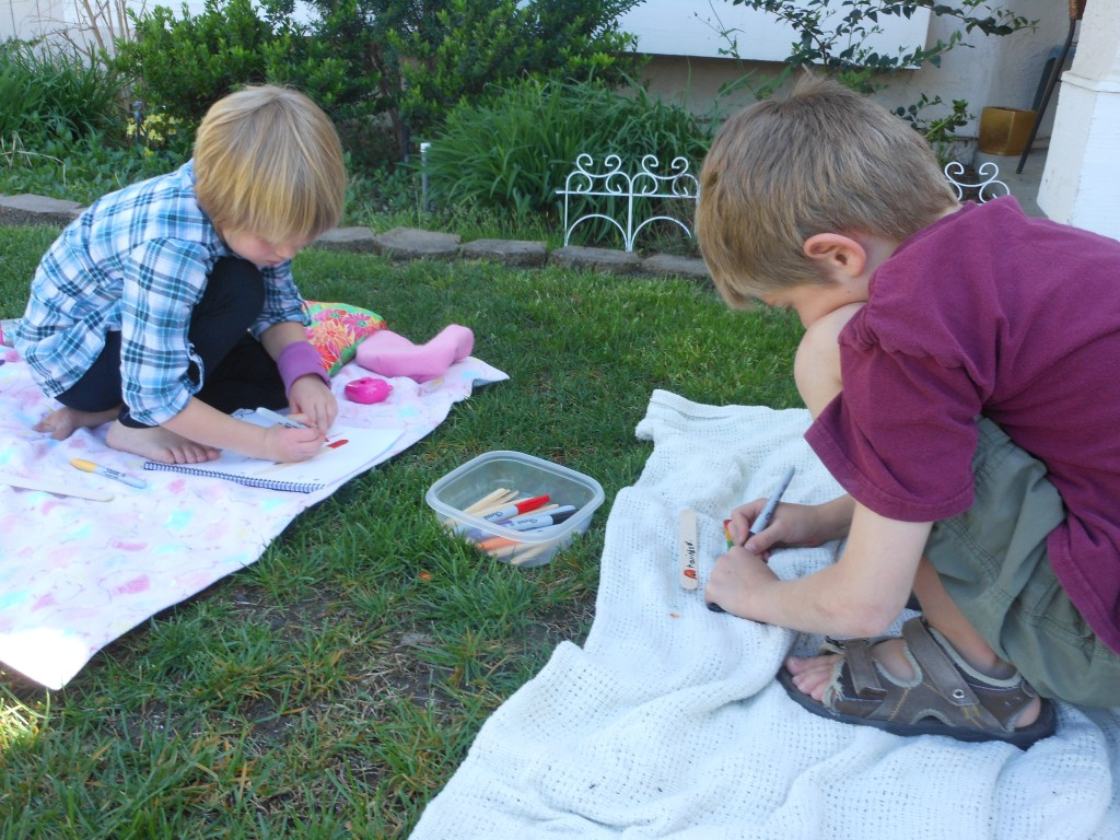 Bookmark & Reading Pointer. Spring Activities from A Mom with a Lesson Plan