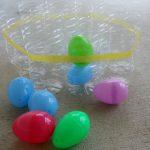 Easter Game… Plastic Egg Toss