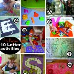 It's Playtime! Letter Activities