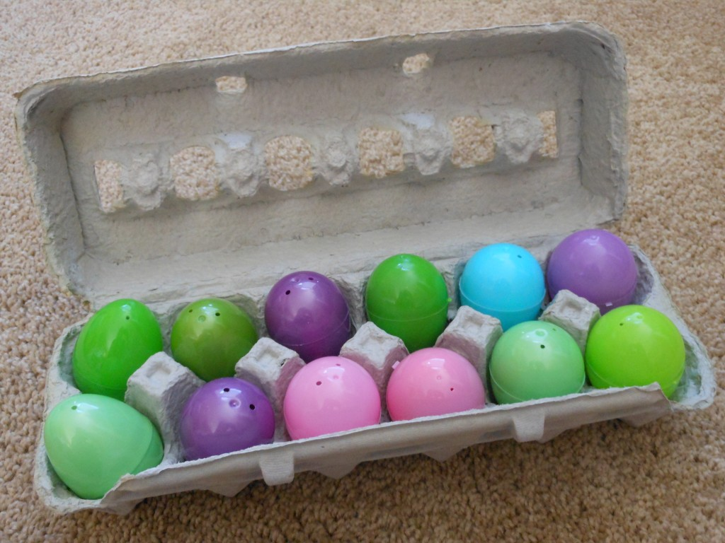 Easter activity matching sound game