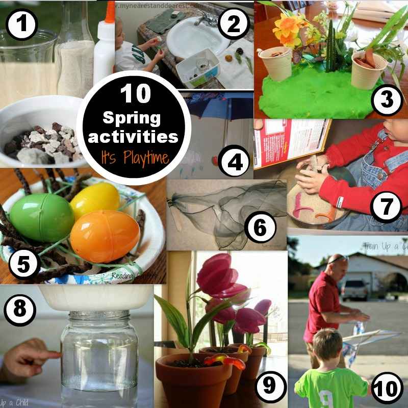 It's Playtime Spring Activities