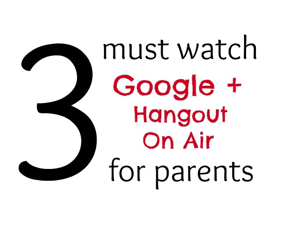 These awesome parenting hangouts cover Reading, Science and Outside activities!