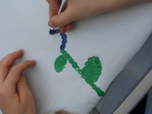 Spring Activities… Pointillism with The Artful Parent