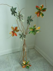 Mother's Day Spin Art Money Gift Tree