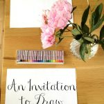 Invitations to Draw with The Imagination Tree