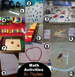 It's Playtime! Math Activities