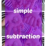 Simple Subtraction Game with Pebbles