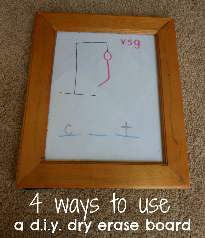 Dry Erase Board Drawings Diy Dry Erase Board