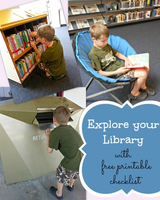 Fun way to learn about our local library... including a free printable! (part of a summer reading series)