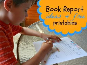 Printable Book Report Templates