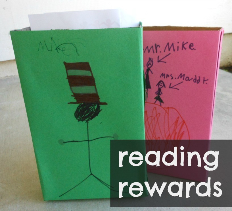 Reading Rewards using book reports and our love of Scholastic