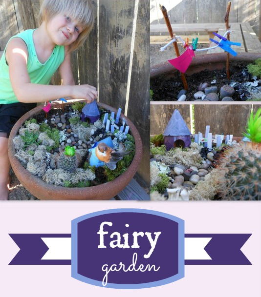 adorable fairy land garden for the backyard